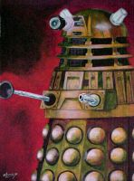 Dalek by cybernetichero