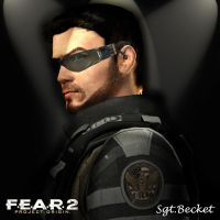 Sgt. Becket FEAR2 by toughraid3r37890
