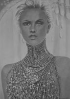 charlize theron by shirls-art