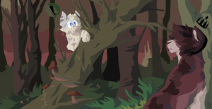 Meet Me in the Woods by PillowRabbit
