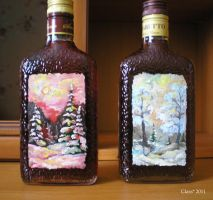 Bottles for New Year by Anshell