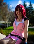 Kingdom Hearts Kairi: Shining by VandorWolf