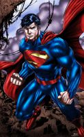 Superman - Jim Lee and others by richmbailey