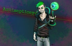 Antisepticeye by SarahLynnArt