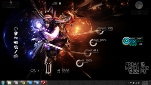 Rainmeter skins (Prince of Persia Concept) by XtiaN0705