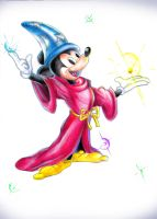 Mickey Mouse - The Wizard by Virangelus
