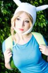 Fionna the Human (Adventure Time cosplay) by Kitty-Honey