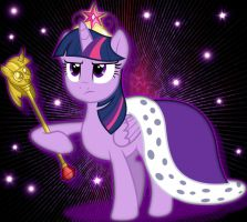 Royal Princess Twilight Sparkle by xwerewolfprincessx