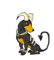 houndoom by Koala-Sam