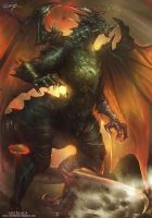 Bahamut by Ron-faure