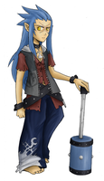 Twilight Town Saix by in-amorata