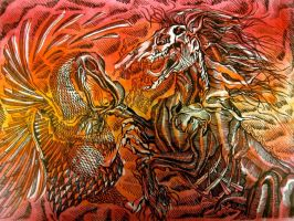 Horse Named Hell and Devil The Dodo by NergalLives65