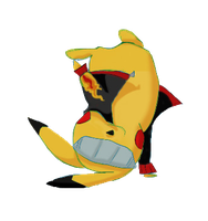 Pikachu Break Dancing by SuperHeroPattyFatty