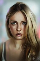Portrait study by vurdeM