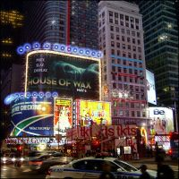 On The Corner At Time Square 2 by badaboum6