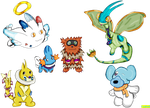 My Pokemon Team (New Style) by Kushell