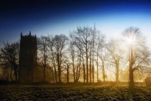Church+Mist+Sunrise - Norfolk, UK by Coigach