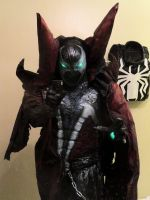 MY COMPLETED SPAWN COSTUME by symbiote-x
