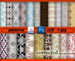 Patterns Abr And Jpg by roula33