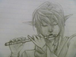 Flute elf song by AngelSkyXXIV