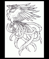 PhoenixTattoo-ReduxConcept by Deathcomes4u