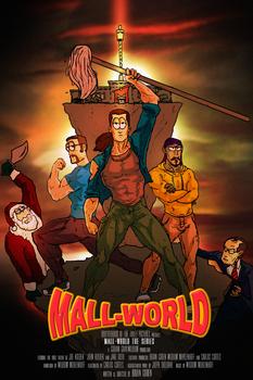 Mall World promotional poster by NiteOwl94