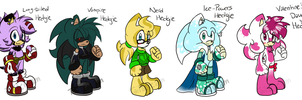 Sonic Male Adoptables .:CLOSED:. by Tailscream