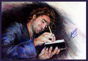 With love, Robert Pattinson by LilDevilAriel