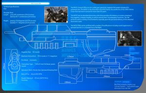 Halo 3 : Ma5c Assault Rifle Blueprints ,by DFT by CpCody