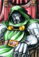 Doctor Doom ATC by DKuang