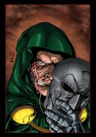 Dr. Doom by wordmongerer by wrathofkhan