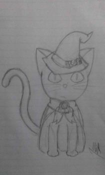Ferry The Magician Cat by MatsuDoodler