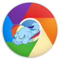 Rainchrome Dash By Dynadrag-d521u88 by Green-spectra
