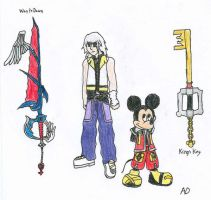 KHKBW_Riku+King Mickey by DNLnamek01