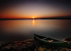 My Old Canoe by northernbackroads