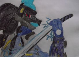 Rising Revengeance Lucario by FlyingLion76