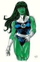 shehulk commission by Dogsupreme