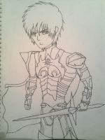 I will color it soon. by xXKevSkyDrawsXx