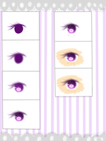 Tutorial 2- eyes by kioler
