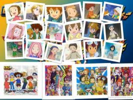 Digimon Adventures by lilaclily3