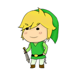 Chibi Link by Kaito07