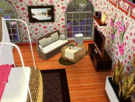 My Sim's House: Bed Room by zzpopzz