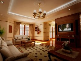 rec. and living room1 by aboushady81