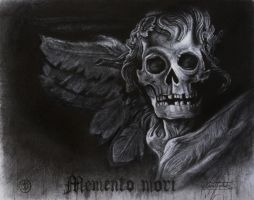Memento mori ( mixed drawing techniques) by KaradjinovicMarko