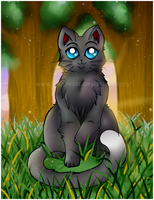 RAVENFROST +ART TRADE+ by Fuuthecat