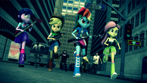 [SFM] EqG: Left 4 Dead by FD-Daylight