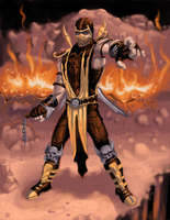 Scorpion (MK 9) by snicholes0000