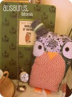 Mr. Morris Owl. by alannah-the-pirate