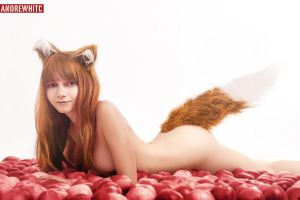 Horo (Holo) in Apples - Spice and Wolf by Vesta by andrewhitc