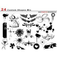Custom Shape Mix by brushesfreedow
